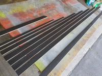 New set of carbon/basswood battens for C-Skeeter