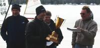 Matt Sruble and the NA trophy