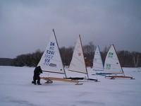 Break Time on Friday, 03/12/04 at Torch Lake, MI
