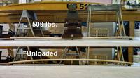 Plank Deflected vs. Unloaded