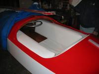 JD's workshop - Nov 2005  Santa's sleigh