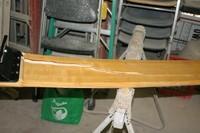 Plank after hitting crack, 1/2/2011