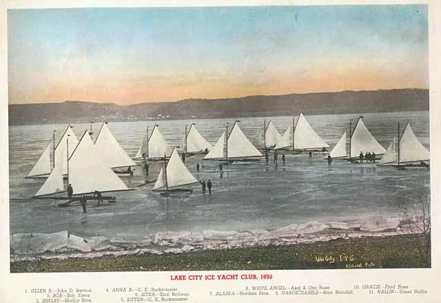 1898 Lake City Ice Yacht Club