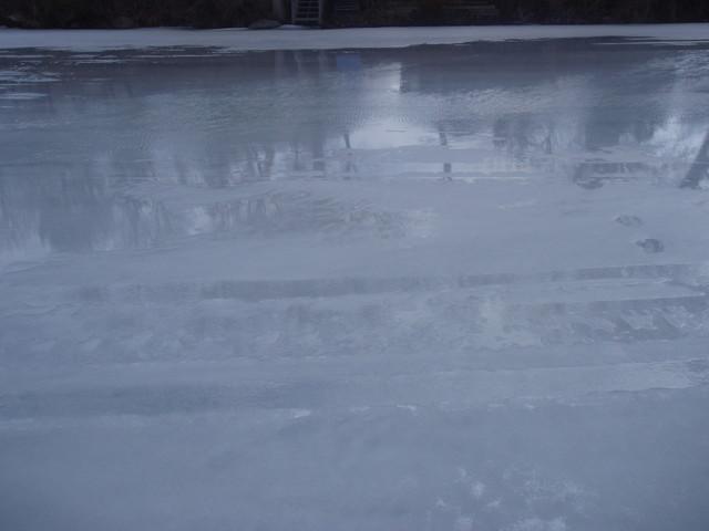 Minnetonka ice on April 1