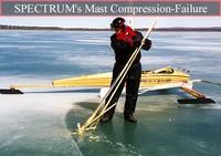 Mast compression-failure